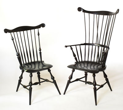 Bon Luke Barnett Windsor Chairs