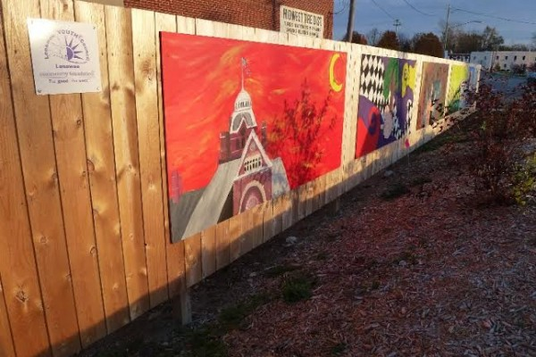 Mural alive completed