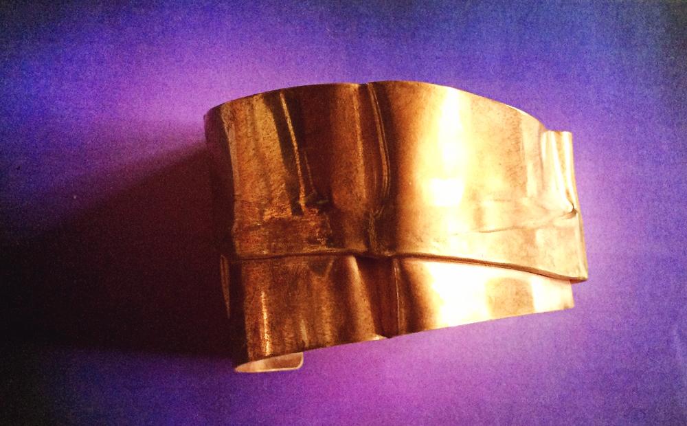Annemarie Kallenbach - Brass cuff