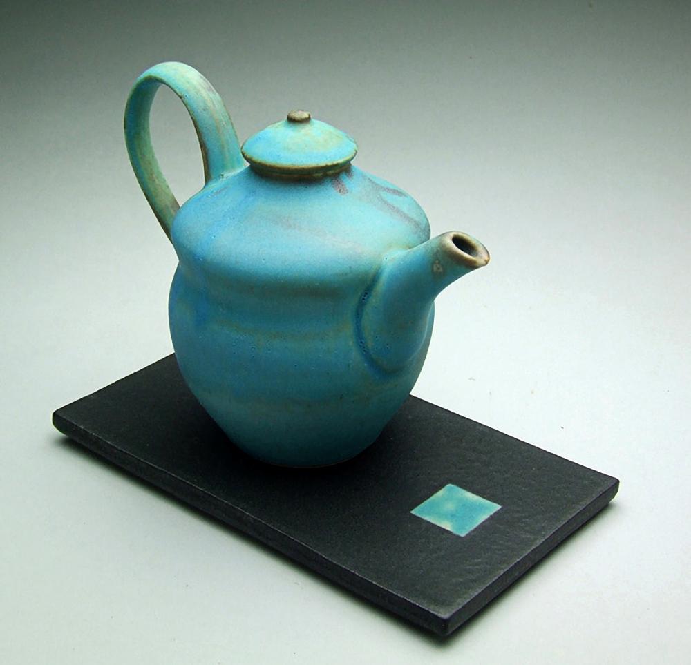 Dennis Swartzlander - Turquoise Cruet