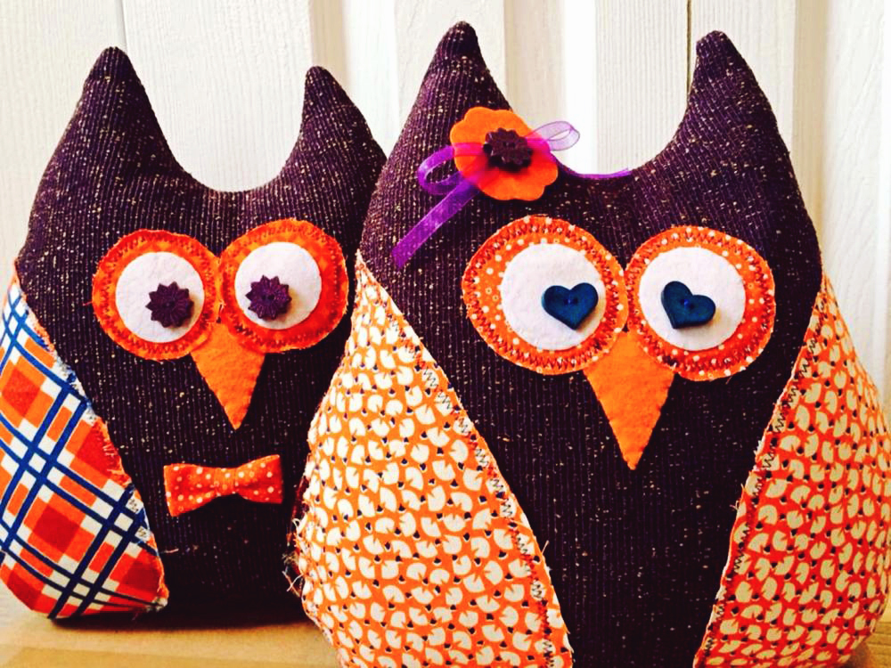 Kelley Skillin - Owl Couple