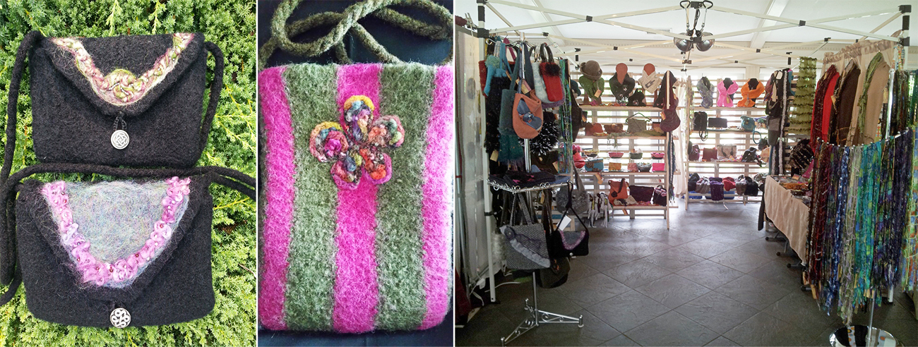 Mary Kelly - Fiber Art & Booth