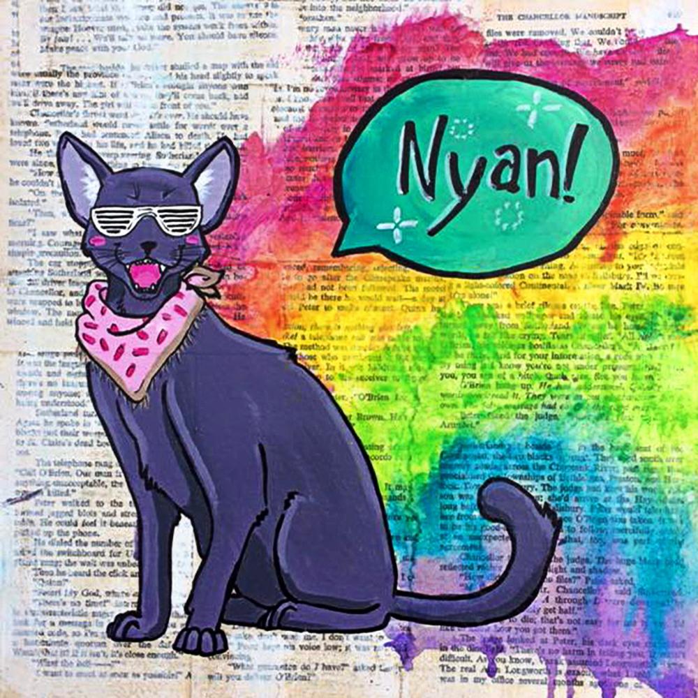 Sarah Henry - Poptart Cat