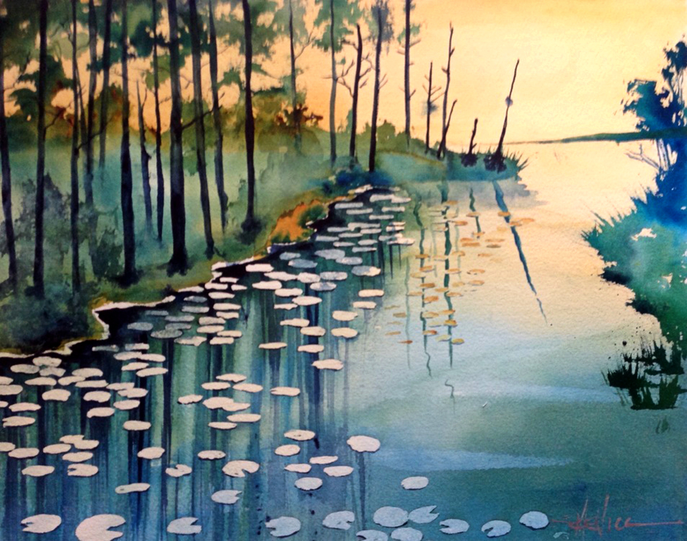 Susan Semenick - Water Lilies
